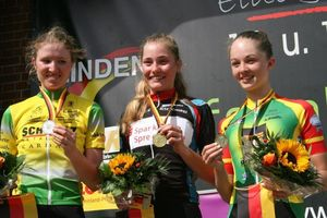 Tilla Geisler vom RSC Cottbus ist deutsche Meisterin. Foto:Michael Gaumnitz