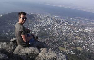 Eric Engler in Südafrika. Foto: privat